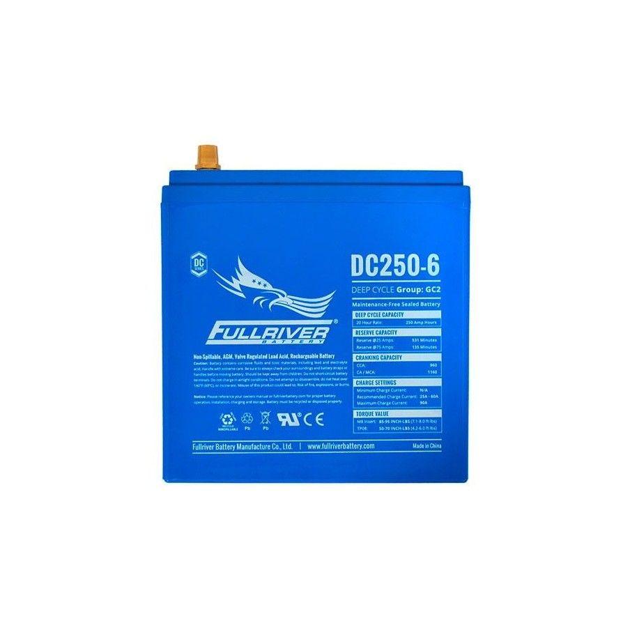 Batería Fullriver DC250-6 250Ah -A 6V Dc FULLRIVER - 1
