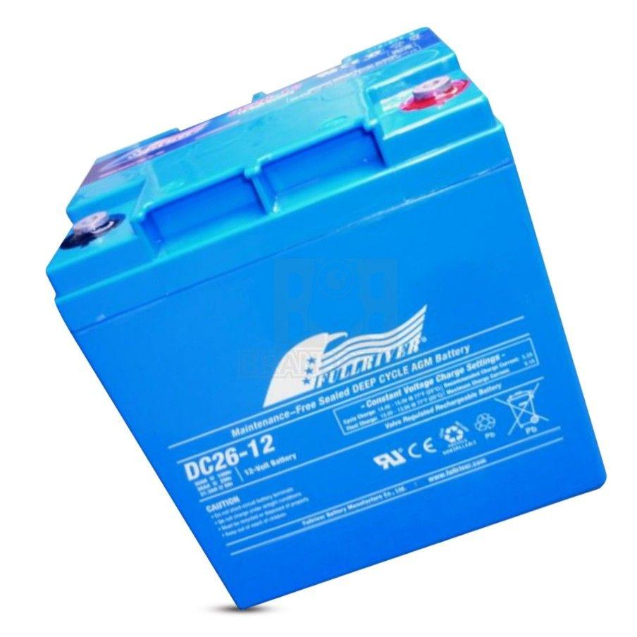 Batería Fullriver DC26-12A 26Ah 160A 12V Dc FULLRIVER - 1
