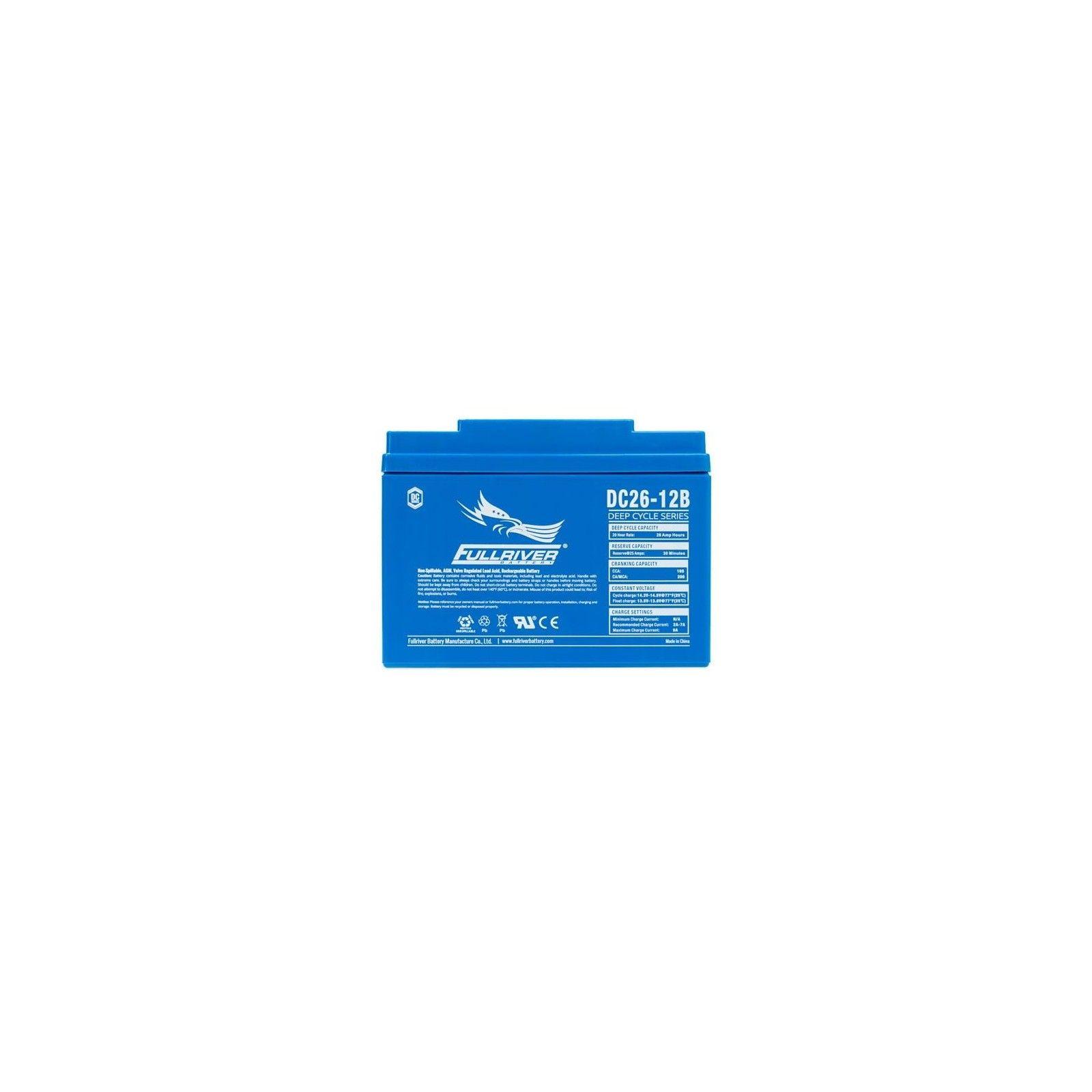 Batería Fullriver DC26-12B 26Ah 165A 12V Dc FULLRIVER - 1