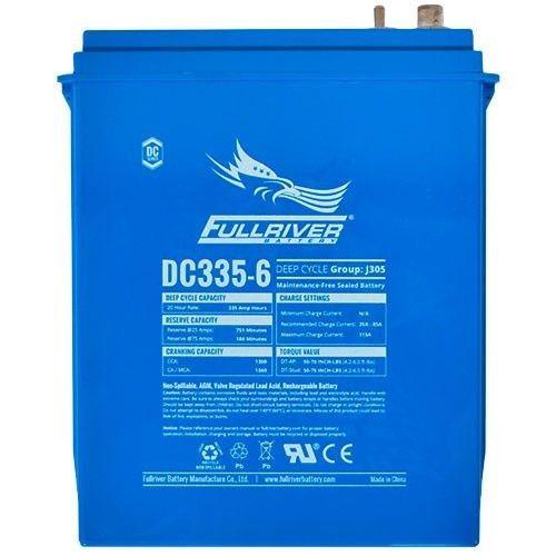 Battery Fullriver DC335-6 335Ah -A 6V Dc FULLRIVER - 1